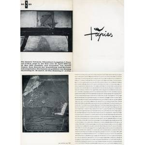 Tapies TAPIES, Antoni (Barcellona, 1923 - Barcellona, 2012) [ ] [Softcover]