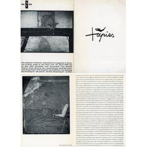 Tapies TAPIES, Antoni (Barcellona, 1923 - Barcellona, 2012) [ ] [Softcover]