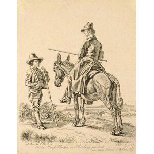 Kunstfreund Georg Ernst Marzen (1790-1868) in Hamburg Klein, Johann Adam [Fine]