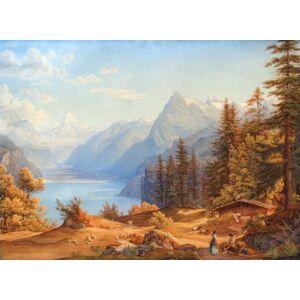 Lago dei Quattro Cantoni (senza titolo) Suter Jakob 1805-74 [ ]