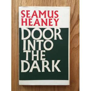 Door Into the Dark Seamus Heaney [Near Fine] [Hardcover]