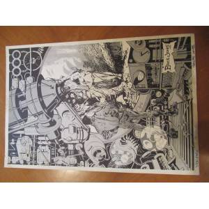 Untitled Original Black And White Lithograph By Bruce Jones Jones, Bruce [Very Good]