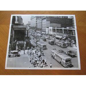 Original Photograph- Market Street In Newark, New Jersey, Circa 1950 Ewing Galloway (Agency) [Fine]
