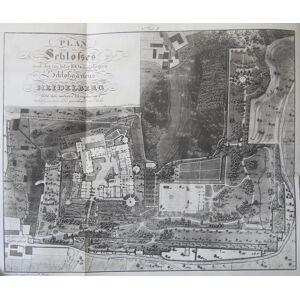 Beschreibung des Heidelberger Schlosses und Gartens. Nach gründlichen Untersuchungen und den vorzüglichsten Nachrichten bearbeitet. HEIDELBERG - METZ