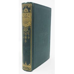 DIALOGUES From DICKENS. Second Series. Dialogues and Dramas [Dickens, Charles. 1812 - 1870]. Fette, W. Eliot [ ] [Hardcover]