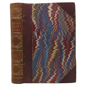 OXFORD PRIZE POEMS: Being a Collection of Such English Poems as Have at Various Times Obtained Prizes in the University of Oxford. [bound with] PETRA