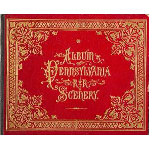 Album of Pennsylvania RR Scenery (Pennsylvania Railroad) [ ] [Hardcover]