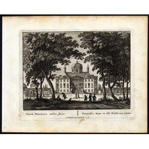 Antique 2 Antique Prints-HUIS TEN BOSCH-THE HAGUE-NETHERLANDS-Schenk-van Gall-1702   [ ]