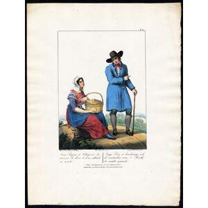 Antique Print-COSTUME-s'HERTOGENBOSCH-NETHERLANDS-Greeve-Villeneuve-1829   [ ]
