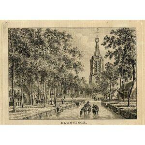 Antique Print-KLOETINGE-ZUID BEVELAND-ZEELAND-Bulthuis-Bendorp-1792   [ ]