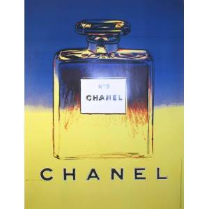 Andy Warhol Original Chanel #5 Poster 1997 Andy Warhol Original Chanel #5 Poster 1997 Andy Warhol [As New]