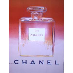Original Chanel #5 Poster Bottle by Andy Warhol 1997 Original Chanel #5 Poster Bottle by Andy Warhol 1997 Andy Warhol [As New]