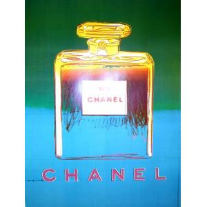 Original Chanel #5 Bottle Poster by Andy Warhol 1997 Original Chanel #5 Bottle Poster by Andy Warhol 1997 Andy Warhol [As New]