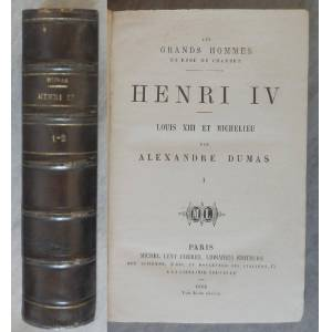 Henri IV, Louis XIII et Richelieu DUMAS Alexandre [Near Fine] [Hardcover]