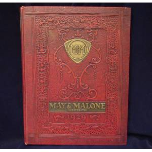May & Malone Presenting The Red Book For 1929 May & Malone [Very Good] [Hardcover]