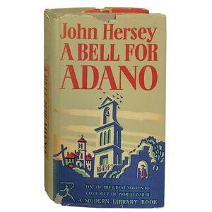A Bell for Adano Hersey, John [Near Fine] [Hardcover]