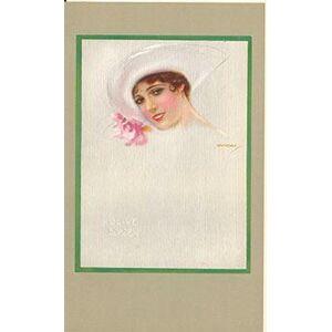 Portrait of Olive Borden for Fox Films. Usábal y Hernández, Luis Felipe (1876-1937) [Good]