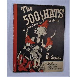 The 500 [Five Hundred] Hats of Bartholomew Cubbins SEUSS, Dr [ ] [Hardcover]