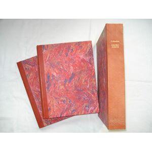 COLLECTION GEORG HIRTH. 2 Abteilungen in 2 Bänden und Tafel-Kassette. Einleitung von Herbert Hirth. Sammlungs- u. Versteigerungskataloge. HIRTH - [ ]