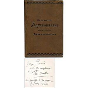 Descriptive Zoopraxography or the Science of Animal Locomotion. MUYBRIDGE, Eadweard [Very Good] [Hardcover]