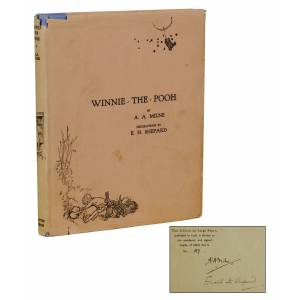 Winnie The Pooh Milne, A. A.; Shepard, E. H. [Illustrations] [Very Good] [Hardcover]