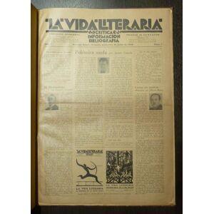 Revista La Vida Literaria Enrique Espinoza, Samuel Glusberg (Dir) [Near Fine] [Hardcover]