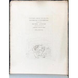 Contorni Delle Figure Del Giudizio Universale Dipinto Da Michel Angelo. Metz C. M. [Conrad Martin] [Near Fine] [Hardcover]
