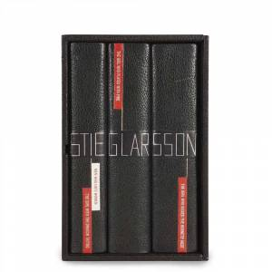 The Millenium Trilogy (in special Sangorski binding, with Larsson's original rejection letter and pencil portrait) Stieg Larsson [Fine] [Hardcover]
