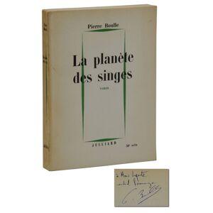 La Planete Des Singes [The Planet of the Apes] Boulle, Pierre [Near Fine]