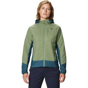 Mountain Hardwear Women's Kor Cirrus Hybrid Hoody - Small - Field