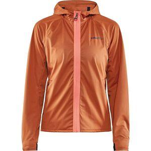 Craft Sportswear Women's Hydro Jacket - Large - Buff / Trace