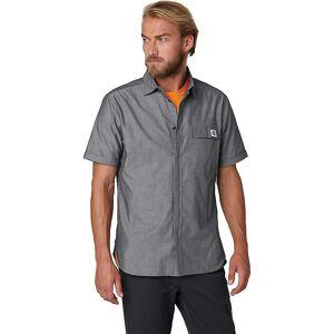 Helly Hansen Men's Huk Short Sleeve Shirt - Medium - Ebony