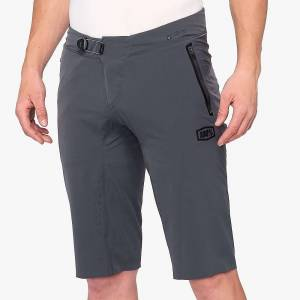 100% Men's CELIUM Short - 34 - Charcoal