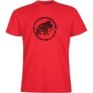 Mammut Men's Logo T-Shirt - Medium - Magma