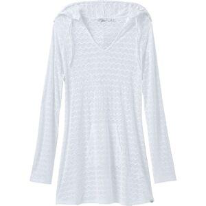 Prana Women's Luiza Tunic Dress - Medium - White Chevron