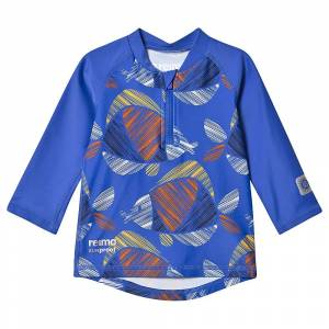 Reima Toddler Tuvalu Swim Shirt - 6-9 m - Blue