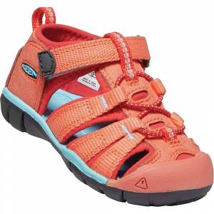 Keen Toddler Seacamp II CNX Sandal - 5 - Coral / Poppy Red