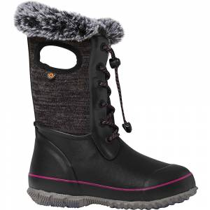 Bogs Youth Arcata Knit Boot - 6 - Black Multi