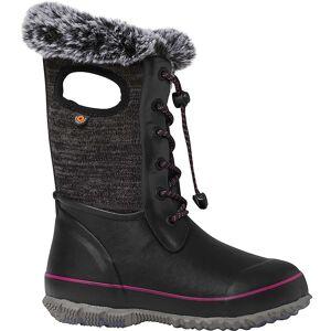 Bogs Youth Arcata Knit Boot - 7 - Black Multi