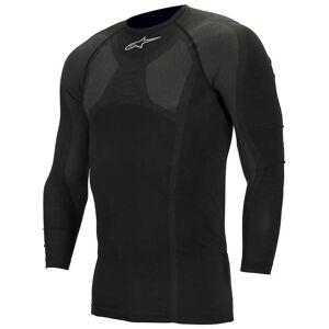 Alpinestars Alpine Stars Men's MTB Tech Top Long Sleeve Underwear - XXL / 3XL - Black