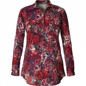 Royal Robbins Women's Expedition Chill Stretch Tunic - XS - Scarlet