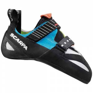 Scarpa Boostic Climbing Shoe - 38 - Parrot/Spring/Turquoise