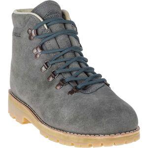 Merrell Men's Wilderness USA Suede Boot - 11 - Steel Grey
