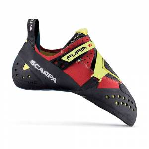 Scarpa Furia S Climbing Shoe - 41.5 - Parrot/Yellow