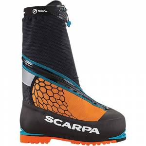 Scarpa Phantom 8000 Boot - 44 - Black/Orange