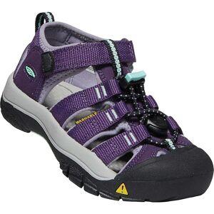 KEEN Kids' Newport H2 Shoe - 5 - Purple Pennant / Lavender Grey
