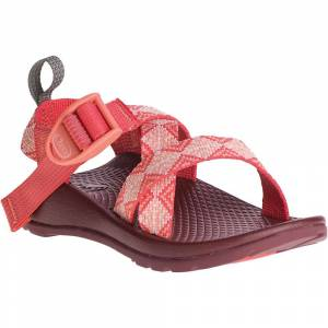 Chaco Kids' Z/1 EcoTread Sandal - 11 - Kaleido Peach