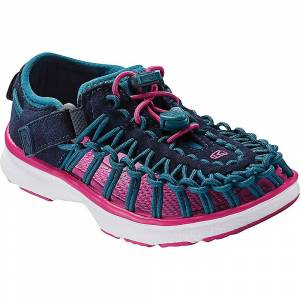 KEEN Kids' Uneek O2 Shoe - 8 - Dress Blues / Very Berry