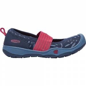 KEEN Kid's Moxie Gore Flat Shoe - 8 - Dress Blues / Raspberry Wine