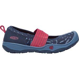 KEEN Kid's Moxie Gore Flat Shoe - 8 - Dress Blues / Raspberry Wine